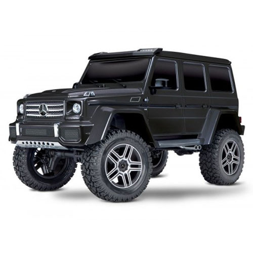 하비몬1/10 TRX-4 Trail Crawler Truck w/Mercedes G500 4x4² Body (Black)[상품코드]TRAXXAS