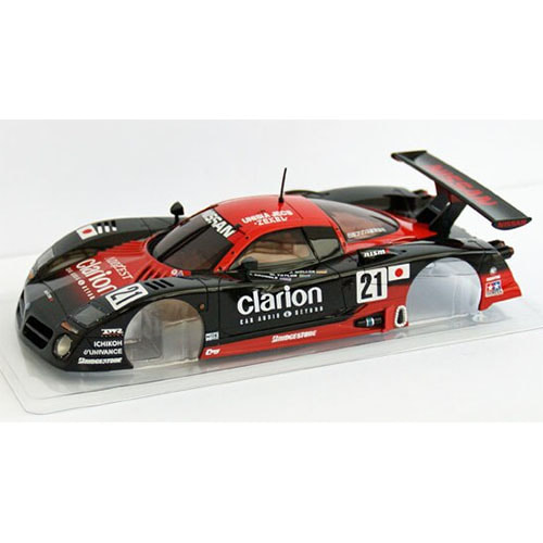 하비몬B/S Nissan R390GT1 LM1997 No.21 Body w/Mount Set only (No wheels/tires)[상품코드]KYOSHO
