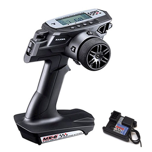 하비몬[#033732] MX-6 FH-E 3-Channel 2.4GHz Radio System w/RX-391W Receiver[상품코드]SANWA