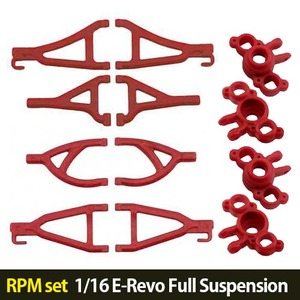 하비몬[RPM set] 1/16 E-Revo Full Suspension A-arms (Red)[상품코드]-