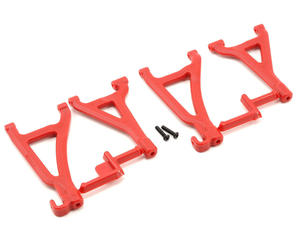 하비몬1/16 Mini E-Revo Front Upper & Lower A-arms (Red)[상품코드]RPM