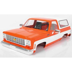 하비몬1/10 Chevrolet Blazer Hard Body Complete Set (Orange)[상품코드]RC4WD