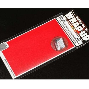 하비몬[#0004-08] REAL 3D Light Lens Decal Red 130x75mm Block Small[상품코드]WRAP-UP NEXT