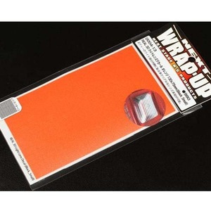하비몬[#0004-13] REAL 3D Light Lens Decal Orange 130x75mm Block Small[상품코드]WRAP-UP NEXT