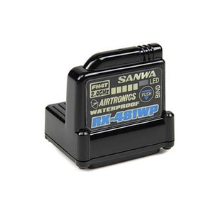 하비몬[#031721] RX-481WP Waterproof 2.4GHz 4CH FHSS-4 Receiver[상품코드]SANWA
