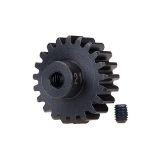 하비몬[#AX3951X] 21T 32P Hardened Steel Machined Heavy Duty Pinion Gear w/3mm Bore[상품코드]TRAXXAS
