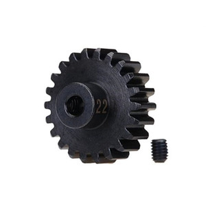 하비몬[#AX3952X] 22T 32P Hardened Steel Machined Heavy Duty Pinion Gear w/3mm Bore[상품코드]TRAXXAS