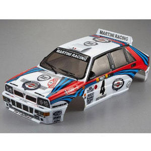 하비몬1/10 Lancia Delta HF Integrale Finished Body Rally-Racing (Light Buckets Assembled)[상품코드]KILLER BODY