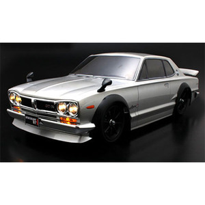 하비몬NISSAN Skyline HT2000 GT-R KPGC10 190mm Body w/Chrome Parts For 1/10 RC Touring[상품코드]ABC HOBBY