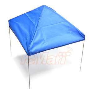 하비몬1/10 Scale Fabric Canopy Pit Tent Blue For RC Car[상품코드]XTRA SPEED