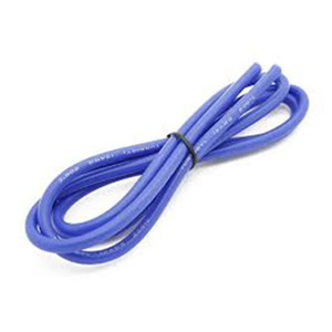 하비몬High Quality 12AWG Silicone Wire 1m (Blue)[상품코드]TURNIGY
