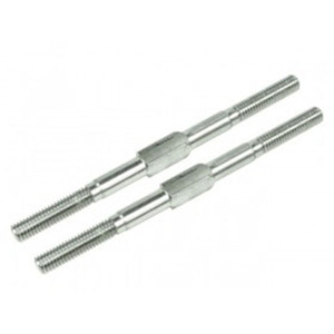 하비몬[#3RAC-TR470] 64 Titanium 4x70mm Turnbuckle 2 pcs Silver[상품코드]3RACING