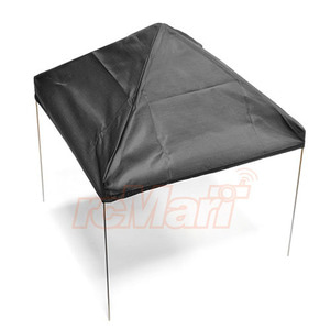 하비몬1/10 Scale Fabric Canopy Pit Tent Black For RC Car[상품코드]XTRA SPEED