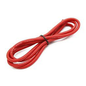 하비몬High Quality 12AWG Silicone Wire 1m (Red)[상품코드]TURNIGY
