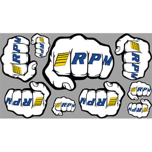 "하비몬[#70020] RPM ""Fist"" Logo Decal Sheets[상품코드]RPM"