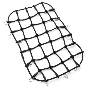 하비몬1/10 Scale Accessory Luggage Net 250mm x 150mm Black For Traxxas TRX-4[상품코드]YEAH RACING