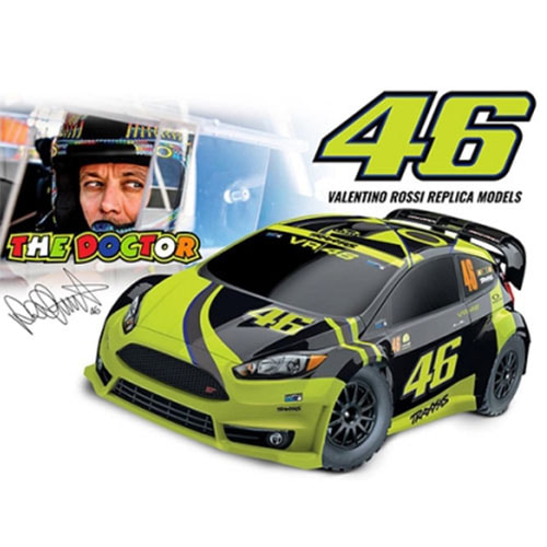 하비몬1/10 Ford Fiest ST Rally-VR46[상품코드]TRAXXAS