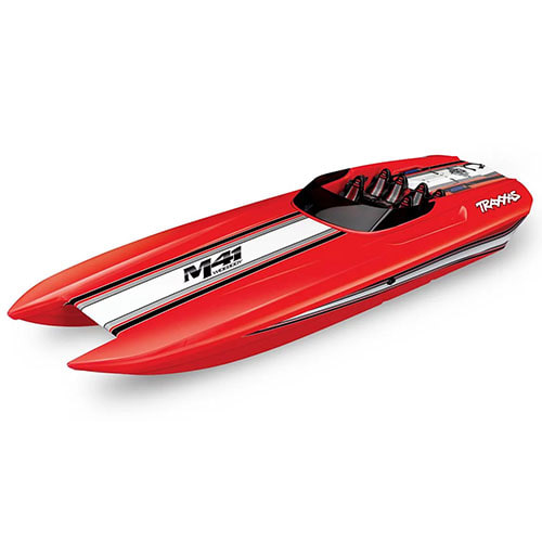 "하비몬DCB M41 Widebody 40"" Catamaran High Performance 6S Race Boat (Red)[상품코드]TRAXXAS"