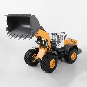 하비몬[#VV-JD00031] [선주문필수] 1/14 Scale Earth Mover 870K Hydraulic Wheel Loader (Yellow and White)[상품코드]RC4WD