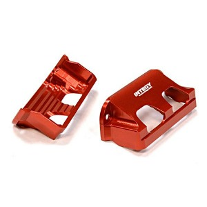 하비몬Billet Machined Servo Guard for Traxxas 1/10 Summit (Red)[상품코드]INTEGY