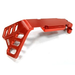 하비몬Billet Machined Rear Skid Plate for Traxxas 1/10 Scale Summit 4WD (Red)[상품코드]INTEGY