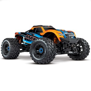 하비몬1/10 Maxx 4S VXL Brushless 4WD RTR (Orange)[상품코드]TRAXXAS