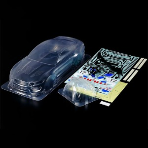 하비몬1/10 Ford Mustang GT4 Clear 190mm Body Set (Unpained)[상품코드]TAMIYA