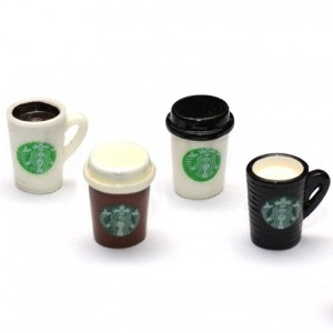 하비몬[#BRSCAC059] RC Scale Accessories - Mug Coffee Cup Drinks (4/Set)[상품코드]TEAM RAFFEE CO.