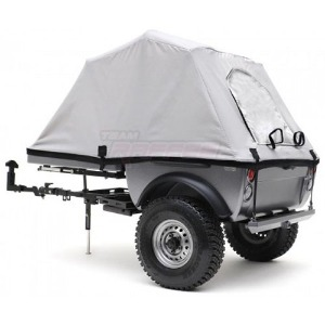"하비몬[#TRC/302378] 1/10 Pop-Up Camper Tent Trailer Kit (w/ 1.55"" 16-Hole Steelies & SP Road Tracker Tires)[상품코드]TEAM RAFFEE CO."