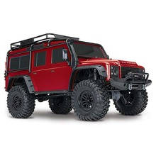 하비몬1/10 TRX-4 Scale & Trail Defender Crawler 4WD RTR (Red)[상품코드]TRAXXAS