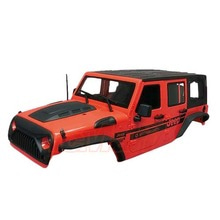 하비몬[#XS-59765AR] Jeep Hard Plastic Body Kit 313mm (Parts A) Ver.2 For Axial SCX10 RC4WD TF2 Red[상품코드]XTRA SPEED
