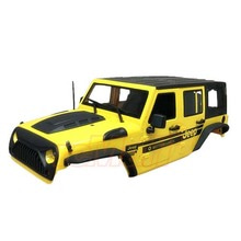하비몬[#XS-59765AY] Jeep Hard Plastic Body Kit 313mm (Parts A) Ver.2 For Axial SCX10 RC4WD TF2 Yellow[상품코드]XTRA SPEED