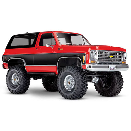 하비몬1/10 TRX-4 Trail Crawler Truck w/'79 Chevrolet K5 Blazer Body (Red)[상품코드]TRAXXAS