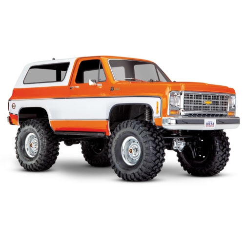하비몬1/10 TRX-4 Trail Crawler Truck w/'79 Chevrolet K5 Blazer Body (Orange)[상품코드]TRAXXAS